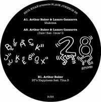 ARTHUR BAKER & LAZARO CASANOVA - Shir Khan Presents Black Jukebox 28 : EXPLOITED (UK)