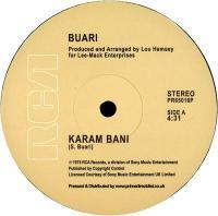 BUARI - Karam Bani : RCA (US)