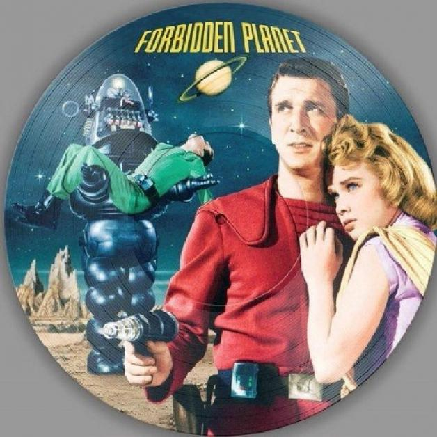 O.S.T. - LOUIS AND BEBE BARRON - Forbidden Planet : PICTURE DISC