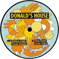 DONALD'S HOUSE - Rainbow Gelato EP : TOUCH FROM A DISTANCE (GER)