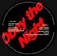 ORLANDO VOORN / LUCA LOZANO - OBEY THE NIGHT : 12inch