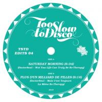 DOCTOR SOUL - Too Slow To Disco Edits 04 (LTD Mint-Green 10inch) : HOW DO YOU ARE? (GER)