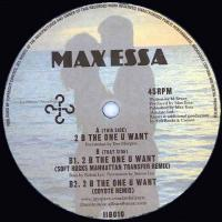 MAX ESSA - B The One You Want : 12inch