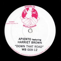 APIENTO - Down That Road : WORLD BUILDING (US)
