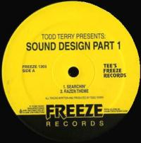 TODD TERRY - Todd Terry Presents: Sound Design Part 1 : 12inch