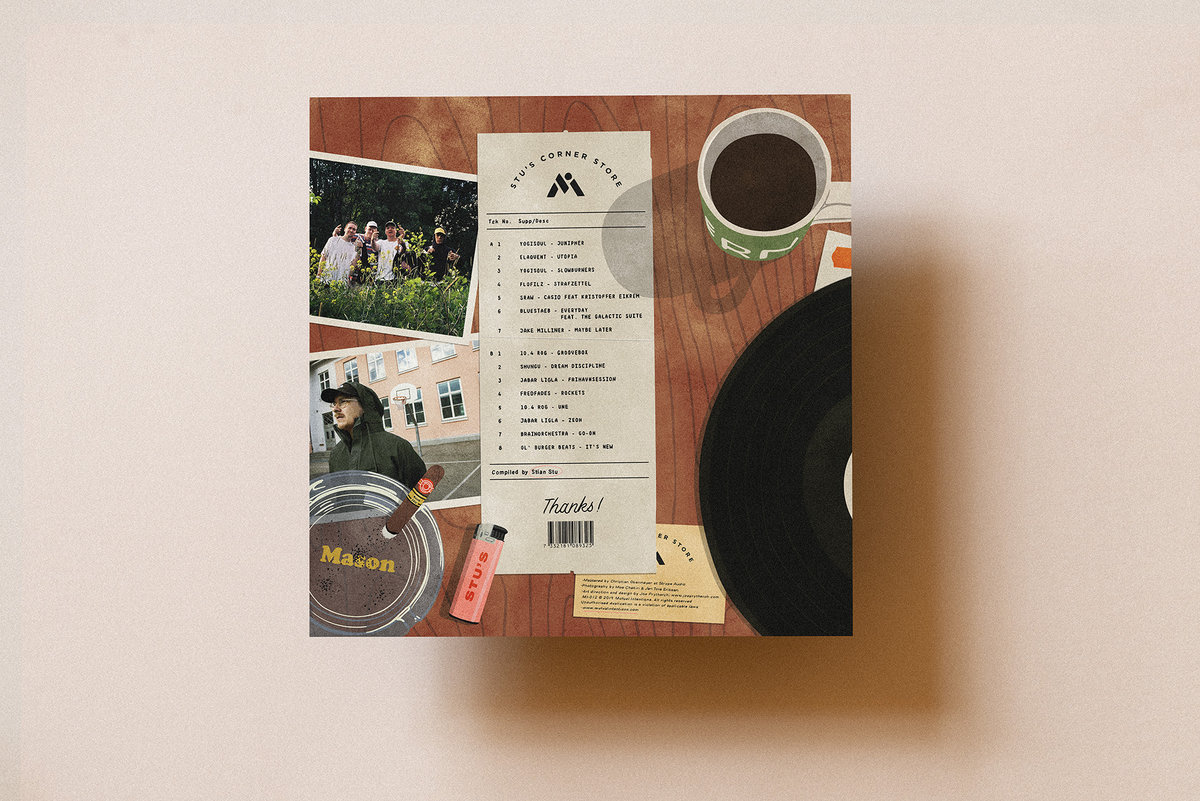 VARIOUS - MUTUAL INTENTIONS - Mutual Friends Compiled By Stian Stu : LP gallery 1