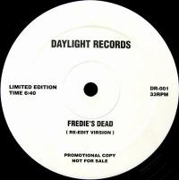 MFSB - Fredie's Dead (Re-Edit Virsion) : 12inch
