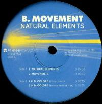 B. MOVEMENT - Natural Elements : FLASH FORWARD (ITA)