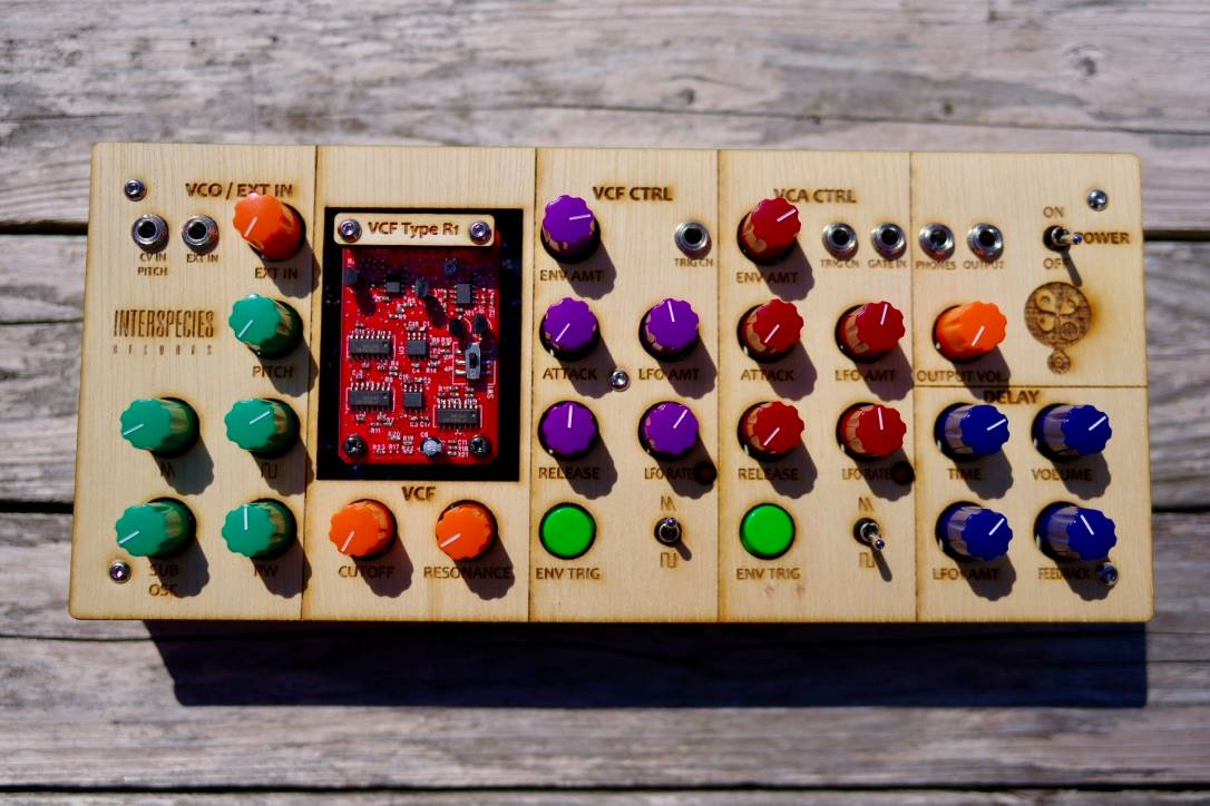 INTERSPECIES SYNTHESIZER - organica : Analog Synthesizer gallery 0