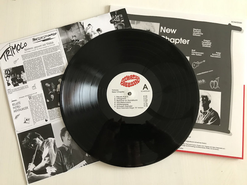 TRIMOLO - New Chapter : LP gallery 2