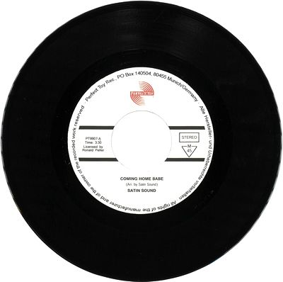 RONNY PELLERS SATIN SOUND - Coming Home Baby : 7inch