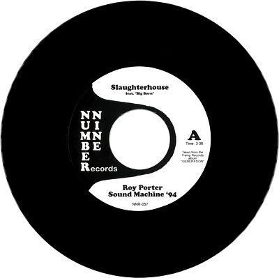 ROY PORTER SOUND MACHINE '94 - Slaughterhouse : 7inch