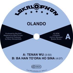 OLANDO - Tenan Wu : 7inch
