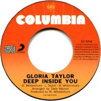 GLORIA ANN TAYLOR - Deep Inside You : 7inch
