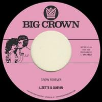 LIZETTE & QUEVIN - Grow Forever / Now It??s Your Turn To Sing : BIG CROWN (US)