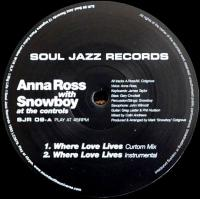 n_t0000470ANNA ROSS - Where Love Lives : SOUL JAZZ RECORDS <wbr>(UK)