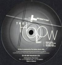 THE HOLLOW - We Want It Bad : STOCKHOLM LTD (SWE)