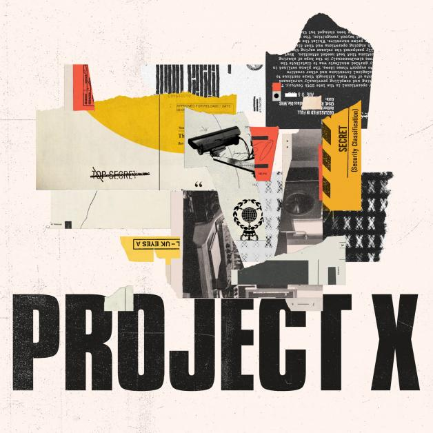 PROJECT X - S/T : 2000BLACK (UK)