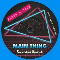 BUSCRATES - Main Thing / F.T.F (Freak The Funk) : 7inch
