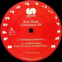 RICK WADE - Conscience EP : 12inch