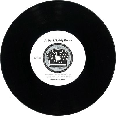 ISAAC CHAMBERS & DUB PRINCESS - Back to My Roots (Deep Fried Dub Remixes) : DUBMISSION RECORDS LTD (UK)