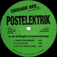 POSTELEKTRIK - So We All Thought We Knew Technology : CHICAGO BEE (UK)