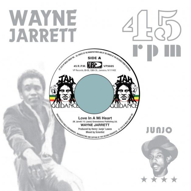 WAYNE JARRETT / ROOTS RADICS - Love In A Mi Heart / Blood On His Lips : 17 NORTH PARADE (US)