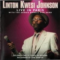 LINTON KWESI JOHNSON - Live In Paris : CD