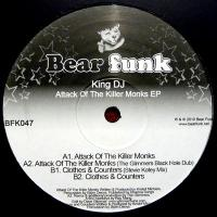KING DJ - Attack Of The Killer Monks EP : 12inch