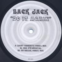 BACK JACK - Do It Again : 12inch