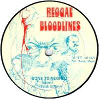 ALTHEA AND DONNA / INNER CIRCLE & LEE PERRY - Gone to Negril : PRESSURE SOUNDS (UK)