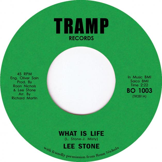 LEE STONE - What Is Life : 7inch