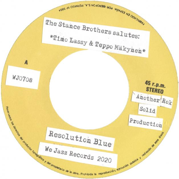 THE STANCE BROTHERS - Resolution Blue : WE JAZZ (FIN)