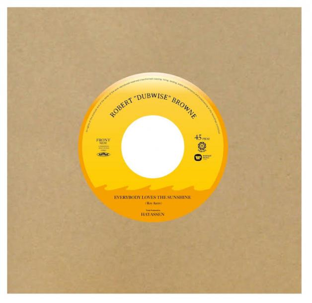 "ROBERT ""DUBWISE"" BROWNE - Everybody Loves The Sunshine c/w Dub Version : 7inch"