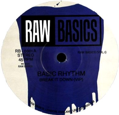 BASIC RHYTHM & PARRIS - Raw Basics Vol.1 : 12inch