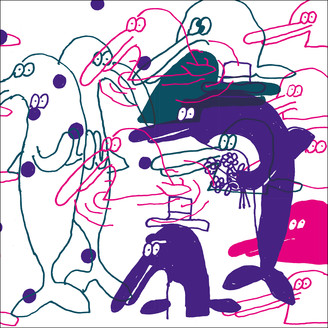 GUILLAUME & THE COUTU DUMONTS - The Chase : 12inch