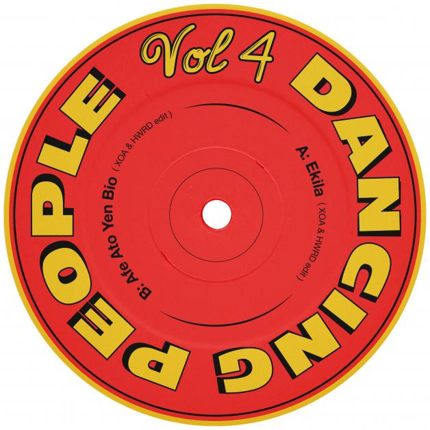 DANCING PEOPLE - Volume 4 : 12inch
