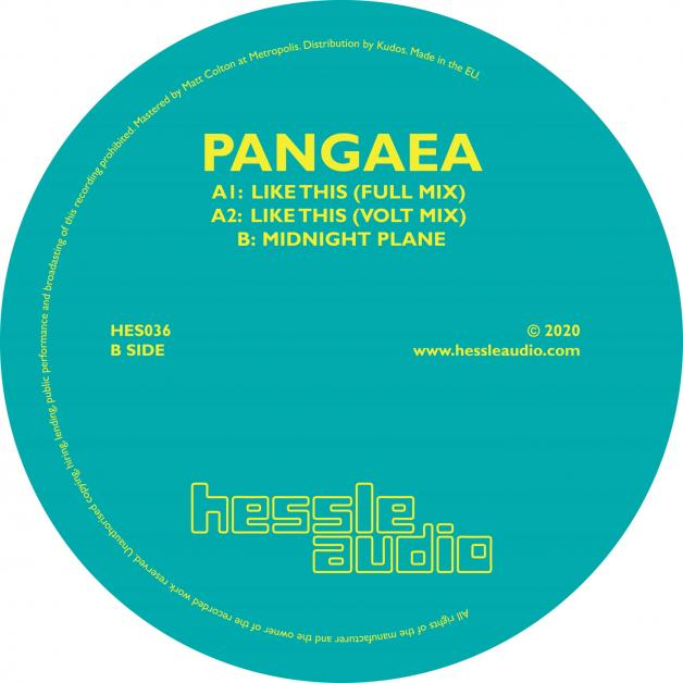 PANGAEA - Like This : HESSLE AUDIO (UK)