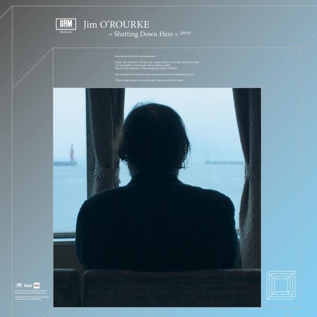 JIM O'ROURKE - Shutting Down Here : LP+DL