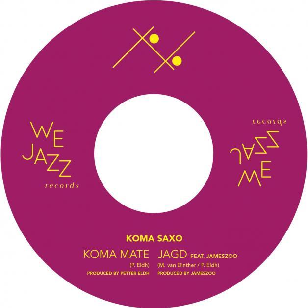 PETTER ELDH & KOMA SAXO - Koma Mate / Jagd : 7inch