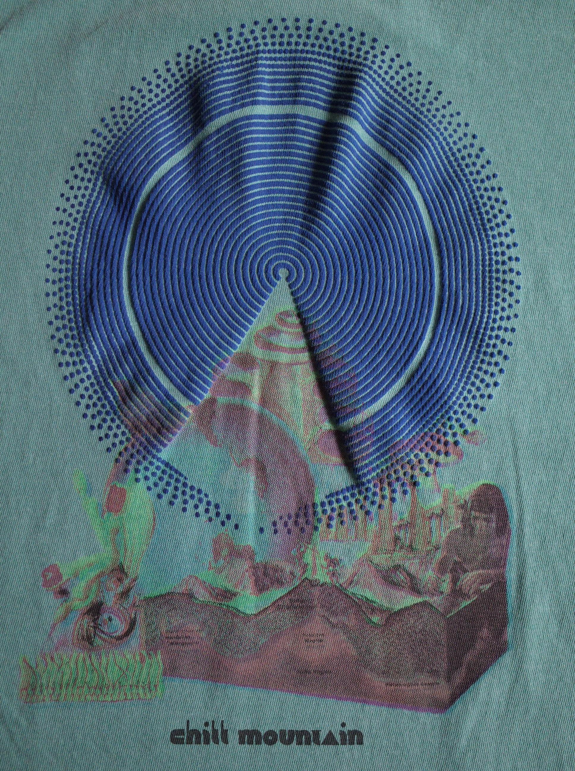 CHILL MOUNTAIN - Todobien T-shirts  WASH GREEN Size M : WEAR gallery 0