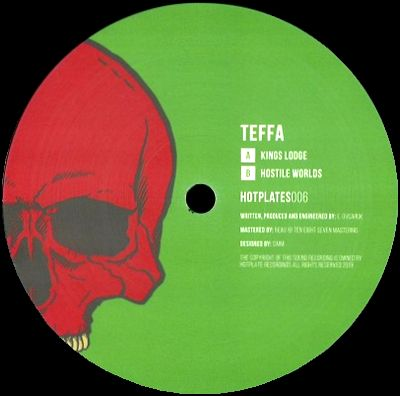 TEFFA - Kings Lodge / Hostile Worlds : 12inch