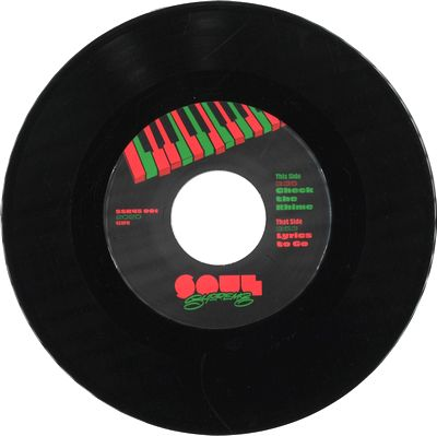 SOUL SUPREME - Check the Rhime / Lyrics to Go : 7inch