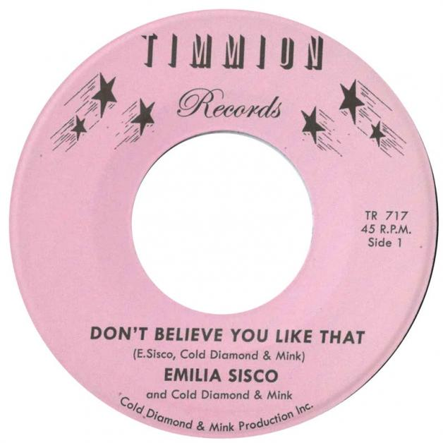 EMILIA SISCO - Don't Believe You Like That : TIMMION (FIN)