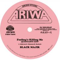 BLACK MAJIK/YONA - FEELING'S KILLING ME (QUIETDAWN EDIT) c/w COULD IT BE I'M FALLING IN LOVE (QUIETDAWN EDIT) : 7inch