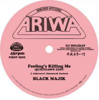 BLACK MAJIK/YONA - FEELING'S KILLING ME (QUIETDAWN EDIT) c/w COULD IT BE I'M FALLING IN LOVE (QUIETDAWN EDIT) : ARIWA/OCTAVE-LAB (JPN)