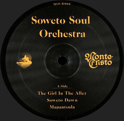 SOWETO SOUL ORCHESTRA - Soweto Soul Orchestra : LP