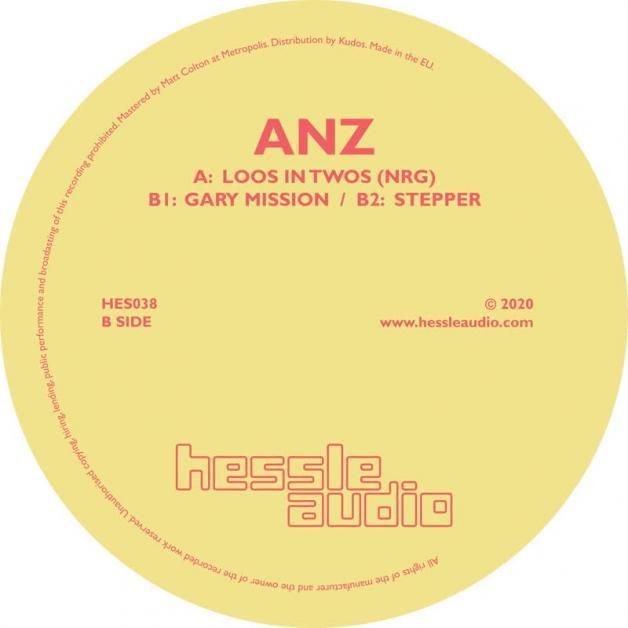 ANZ - Loos In Twos (NRG) : HESSLE AUDIO (UK)