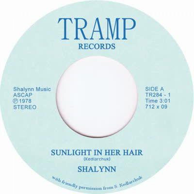 SHALYNN - Sunlight In Her Hair : 7inch