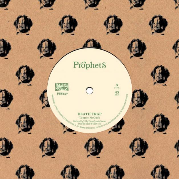 TOMMY McCOOK & THE PROPHETS - Death Trap : 7inch